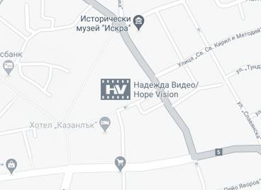 Карта с адрес на Hope Vision