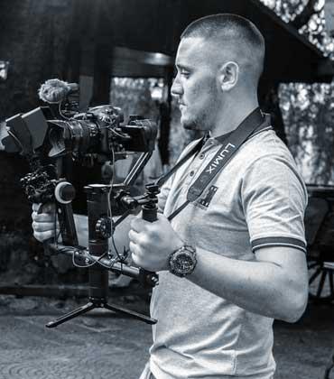 Мирослав Цонев - Дрон оператор в Hope Vision